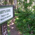 Trail Sign!- Hart's Cove