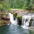 Lower falls- Lewis River Falls