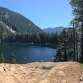 View of Lena Lake from the lookout- Lena Lake Hike
