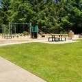 Great playground and lots of grass to play frisbee or let the dog run.- North Johnson Creek Trail