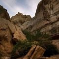 As you exit the slot canyons it opens up to some amazing scenery- Little Wildhorse Canyon Hike