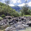 The Hanakapi`ai Stream- Kalalau Trail