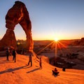 Sunset at Delicate Arch- Delicate Arch