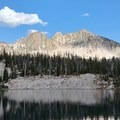 The view across heart lake- Middle Fork of the Boise River, Camp Lakes and Flytrip Basin