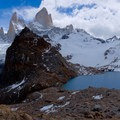 Mount Fitz Roy at Glacier National Park, Argentina- Laguna des los Tres