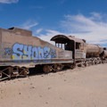 Great Train Graveyard – Uyuni, Bolivia- Solar de Uyuni: Incahuasi Island + Train Cemetery