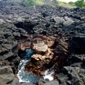Blow holes just north of two step. - Pae'a / Two Step at Hōnaunau Bay