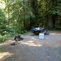 Upper site- North Fork Campground
