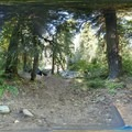 Lower site panorama.- North Fork Campground