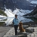 Lake Agnes with Murphy- Lake Agnes + The Beehive Hike