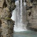 Upper Falls- Johnston Canyon Upper Falls Hike