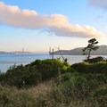 View of the Golden Gate Bridge from Ridge Campsite 5- Ridge Camp