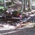 At Bertha, heading for Granite- Granite, Bertha May + Pothole Lakes