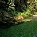 Gold Mine pool- Shady Cove + Cedar Creek Campground