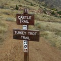 Castle Trail and Turkey Trot Trail. - Castle Trail Hike