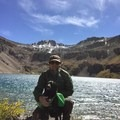 Blue Lake - 12,440 ft in Uncompahgre National Forest- Bridal Veil Falls, Telluride