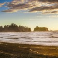 The evening at Rialto Beach- Rialto Beach