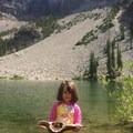 Little Strawberry Lake- Little Strawberry Lake via Strawberry Lake + Strawberry Falls