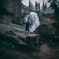 Ouzel waterfall- Ouzel Falls Hike