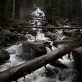 Lower Falls (1st big bridge)- Ouzel Falls Hike
