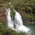 Pool above falls.- Abiqua Falls