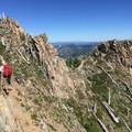 Yes, that is the trail on Mt Whittier Ridge- Mount Margaret Backcountry Lakes