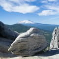 View of Mt Shasta from the summit- Castle Crags Dome Hike