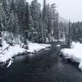 Tumalo Falls Ski + Snowshoe Trail