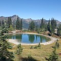 lake by PCT. Chinook pass- Dewey + Anderson Lakes