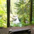 One of the camp sites a few miles in. Great lunch break spot. - Siouxon Creek Hike