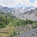 North and Middle Sister- Obsidian Trail Hike