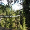 The main suspension bridge - Capilano Suspension Bridge Park