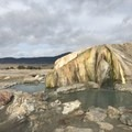 Warmest of the natural pools- Travertine Hot Springs