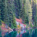 Fall colors at Blue Lake- Blue Lake Hike