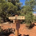Signage to and from Devil's Bridge is available on Chuck Wagon Trail- Devils Bridge