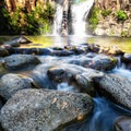 An ideal place to relax and cool off- Hatchet Falls / Lion Slide Falls