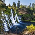 From the middle vista spot on the trail down to the falls. - McArthur-Burney Falls Memorial State Park