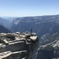Top of Half Dome- Half Dome via Mist Trail
