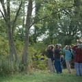 Birdwatchers frequent the park throughout the fall- Lighthouse Point Park