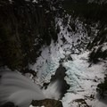 The view of Tumalo Falls from the top. - Tumalo Falls + Creek Hike