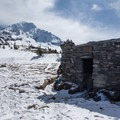 The McNeil Point shelter.- McNeil Point