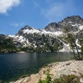 Alpine Lake.- Alpine + Sawtooth Lakes, Iron Creek Drainage