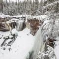 Paulina Falls.- Paulina Creek + Falls Loop Trail