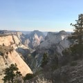 West Rim Trail- West Rim Trail, Lava Point to Zion Canyon