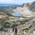The views are endless on the descent when hiking the loop clockwise.- Medicine Bow Peak Loop