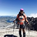 Reaching the summit. - Mount St. Helens Hike: Monitor Ridge Route
