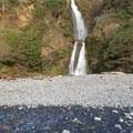 Waterfall further down the beach- Short Beach