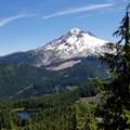 Burnt Lake and Mt Hood- Burnt Lake + Zigzag Mountain