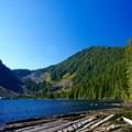 Right side of the lake- Talapus Lake