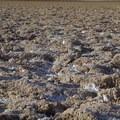 Up close of salt mounds- Badwater Basin
